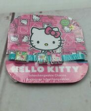 New Hello Kitty By Sanrio Interchangeable 3 Charms M/M 4+ Bracelet 7.5in. around