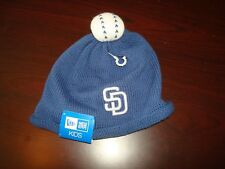 SAN DIEGO PADRES NEW BABY BEANIE KNIT  '''INFANT'  NEW ERA  HAT CAP TOQUE SKULL
