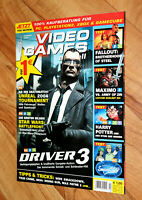 2004 Video Games Magazin Metal Gear Solid The Twin Snakes Driver 3 Terminator 3