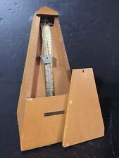 Vintage Metronome Wood Music Timer seth thomas Classical