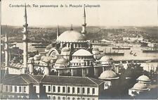 Constantinople, Konstantinopel, Türkei, Vue panoramique de la Mosquèe Suleymaniè