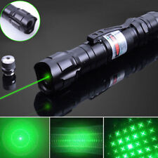 Green Laser Pen Pointer 10 Miles 650nm Visible Beam Light 18650 Astronomy Lazer