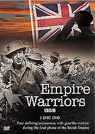 EMPIRE WARRIORS BBC BRITISH EMPIRE AT WAR 1945-1967 R2 DVD 2-DISC DOCUMENTARY