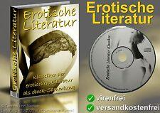 eBook Sammlung EROTIK LITERATUR Liebe Sex CD für TOLINO Sony KOBO Cybook KINDLE