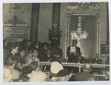 Italia, Comm. Dino Villani e Angelo Motta  Vintage silver print Tirage argenti