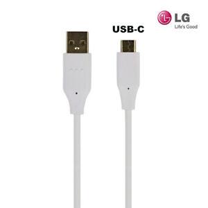 Original LG G8S G7 V40 ThinQ Q7+ G6 G5 V30 USB-C Ladekabel Datenkabel