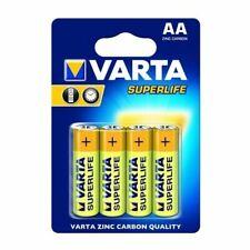 Varta Superlife AA Zinco-Carbonio 1.5V 4 Batterie Non-Ricaricabile - Giallo