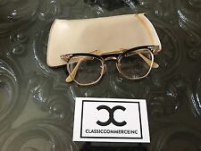 Nice Vintage Eye Glasses B & L Bausch and Lomb 1/10 12K GF Cat Eye CATEYE