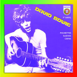 """David Bowie Portugal 7"""" Picture Sleeves - New book"""