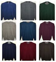 Men`s New MCNEAL Pure Lambswool Jumper Knit Sweater All Sizes in 24 Colours