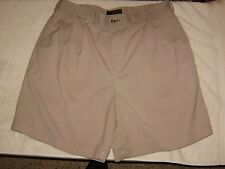 New without tagsTOMMY HILFIGER TAN DBL Pleat Golf Waist Size 38 Shorts