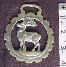 Vtg./Antique Horse Brass/Deer