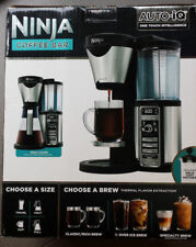 Ninja Coffee Bar with Programmable Timer Auto iQ Black & Silver CF080