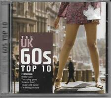The UK 60s Top 10 ~ Various Artists 21 Tracks (CD) NEW & Sealed