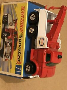 Matchbox Superfast #71 Wreck Truck