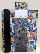 NEW DC Comics SUPERMAN BATMAN FLASH comic cover folding CASE iPAD 2  iPAD 3