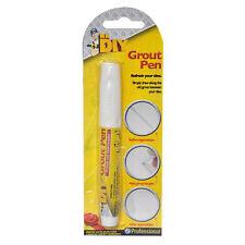 White Grout Tiling Pen Tile Reviver Repair Kitchen Bathroom Shower Anti Mould