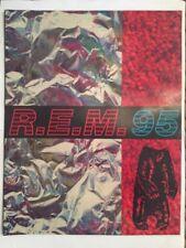 R.E.M. 95 World Tour Programme
