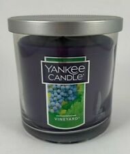 Yankee Candle Vineyard Grape Scent 7 OZ Purple Jar Candle Tin Top