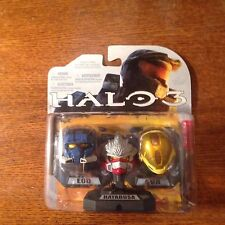 HALO 3 HELMET PACK!!! 3PK W/ BLUE EOD, RED HAYABUSA, AND YELLOW  EVA!!