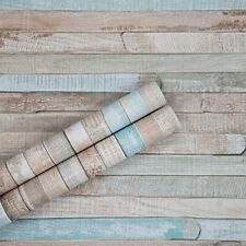 """Wood Wallpaper Peel and Stick 17.71"""" X 118"""" Self-Adhesive Film Removable"""
