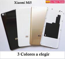 Tapa Trasera Bateria para el Xiaomi Mi5 ★ Pestañas ★ Brillante Original ★ Mi 5