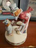 """Circus Royale Wallace Berrie 9609 Clowns Figurine 4.5"""""""