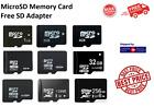 Micro SD MicroSD Memory Card TF 1GB 2GB 4GB 8GB16GB 32GB 64GB 128GB 256GB Lot <br/> Genuine Fits Tablets, Dash Cams, Drones, Smartphones PC
