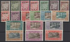 DJ146389/ FRENCH CONGO / POSTAGE DUE – YEARS 1928 - 1930 MINT MH – CV 132 $