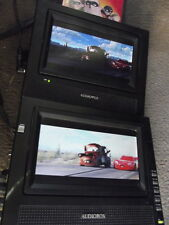"Audiovox PVS69701 Dual 7"" Screen Moblile DVD System Travel Car Truck Suv"