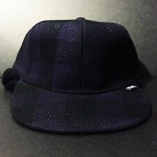 5234bf893d2 vintage STUSSY FITTED BUFFALO PLAID CAP HAT EARFLAP supreme palace
