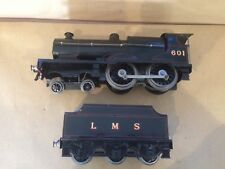 Bassett Lowke 4-4-0 Locomotive & Tender No 601 - painted by C Littledale
