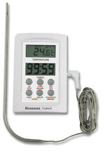 Wide Range Digital Test Thermometer With Alarm & Timer - 38/660/0