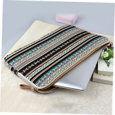 Bohemian Design 12 14 15 Inch Canvas Laptop Bag Notebook Sleeve Case Pouch N3 Multicolor 14inch