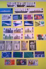 1969 Great Britain Stamps SC 575-607* SG 778-814 MNH Compl Commemorative Set Lot