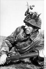 German Army Paratrooper Italy Soldier Rifle World War 2 Reprint Photo 6x4 Inch