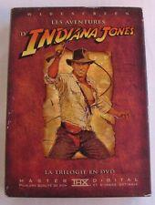 4DVD INDIANA JONES - LA TRILOGIE + BONUS - Harrison FORD - Steven SPIELBERG