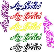 Refrigerado por aire Vw calcomanía / etiqueta adhesiva car/van/window / Pared funny/camper/surf!!!