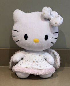 Ty Large Hello Kitty 2010 Angel 32cm Soft Plush Toy, Wand Missing, Vgc