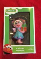 Sesame Street Zoe Christmas Ornament Holding Presents Kurt Adler 2018 NEW