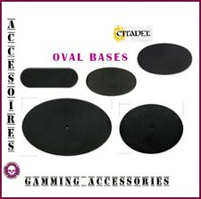 CITADEL OVAL BASES SOCLES OVALES WARHAMMER 40,000 AOS GAMMING ACCESSORIES