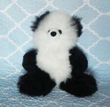 New 100% Baby Alpaca 12� Teddy Bear Soft Fluffy Cuddly White and Black Fantastic