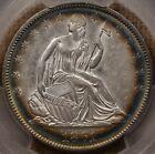 1861 O W 3 LA Issue Seated half dollar PCGS AU55 stunning! DavidKahnRareCoins