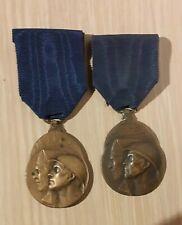 Medaille WO I 1914 1918 vrijwillige strijder 2 versies