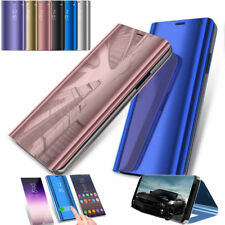 For Huawei Mate 20 Pro / Lite Clear View Smart Mirror Flip Stand Case Cover JA