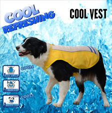 Summer Pet ICE VEST Large Dog COOLING COAT 6hrs Cooling Comfort xs-XL