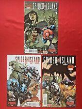 Spider Island #1 - #3 • NM • 1st prints • 3 Comic Spider-Man Set • Marvel