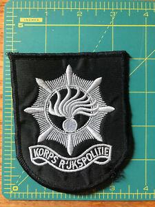 Netherlands - Old Style Korps R'jkspolitie National Police patch