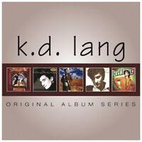 K.D. LANG - ORIGINAL ALBUM SERIES 5 CD NEU