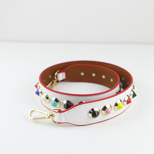 Noble Bags Schultergurt Lola White Round Rivet Multicolor Damentaschen *UVP 39€*